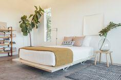 Floyd bed frame bedroom