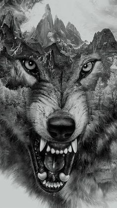 14 Awesome Wolf Tattoos For Women and Men #TattooIdeasForMen