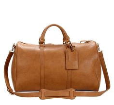 Sole Society Bags - Medium Weekenders - Cassidy in camel and black.