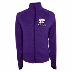 NCAA Kansas State Wildcats Women's Windbreaker Jacket -