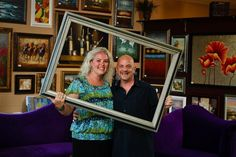 Off the Wall Art Gallery is family-owned and operated by Marsino & Noelle in historic Summerville, South Carolina.  Stop in to browse someday...we would love to meet you!