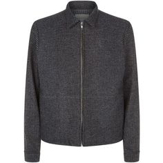 Stephan Schneider Houndstooth Jacket (8,865 EGP) ❤ liked on Polyvore featuring men's fashion, men's clothing, men's outerwear, men's jackets and mens houndstooth jacket