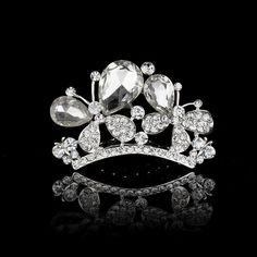 2016 Elegant Wedding Bridal Tiaras Crowns Headwear Rhinestone Pearl We –…