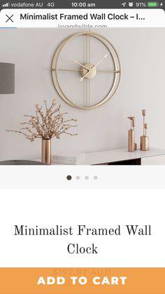Frames On Wall, Clocks, Minimalist, Mirror, Home Decor, Decoration Home, Room Decor, Watches
