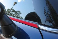 Gen 3 Beltline Trim Cooper S MATTE BLACK 2014 JCW Mini F56 Belt Line Kit