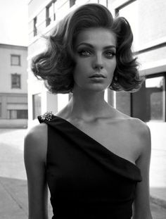 Daria Werbowy par Steven Meisel. Vogue Italie