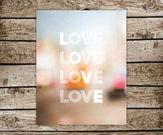 Love by BROWNandBARKLEY on Etsy, $22.00