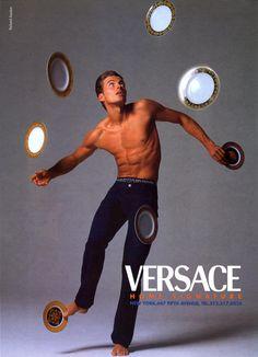 Alex Lundqvist by Richard Avedon for Versace