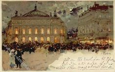 "Luigi Aloys-Francois-Joseph Loir    ""L'Opéra"""