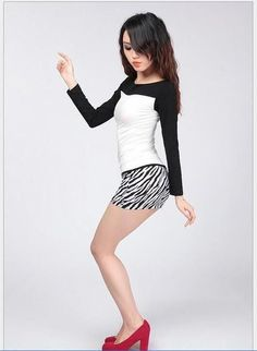 Spring Summer Short Mini Skirt Fashion Sexy Package Hip Step Skirt Solid color Leopard Wild Skirt