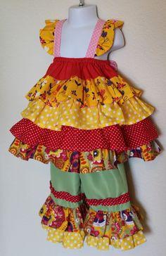 Handmade size 3-4T girls lace baby doll style dress wedding flower girl gift new #Handmade #CasualFormalParty