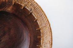 Wood & Weave Plate | the common room store