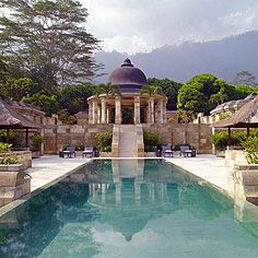 Explore Indonesia using this two-week itinerary. Unwind in luxurious Bali before exploring the remote island of Sumba and diving deep into the region's culture in Java. Horizon Pools, Alila Villas Uluwatu, Borobudur, Cool Pools, Private Pool, World Heritage Sites, Hotels And Resorts, Explore, Extended Stay