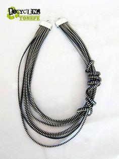 $20 Tonefe beautiful handmade zipp necklace by ToneFe on Etsy