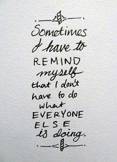 An everyday reminder