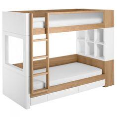 Nurseryworks Duet Bunk Bed with Storage | My Urban Child - $$$