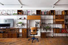 composição office/tv/prateleira