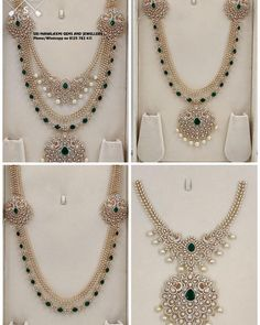 Indian Bridal Jewelry Sets, Indian Jewellery Design, Wedding Jewelry, Jewelry Design, Antique Jewellery, Bridal Jewellery, Jewelry Accessories, Gold Jewelry Simple, Diamond Jewelry