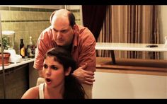 """Marc Raco as a protective dad in the short comedy film """"Joy"""" based on the Chekov play."""