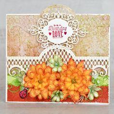 Heartfelt Creations - Summer Garden Birthday