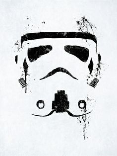 """I would not get a tattoo of a trooper lol but i like the way this is done  Trooper by Purple Cactus ART PRINT / MINI (8"""" X 10"""") $19.00"""