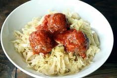 Spaghetti and Meatballs - Maria Mind Body Health