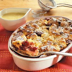 Kirschenmichel-German bread pudding
