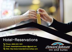 Howard Johnson Inn & Suites are providing reservation facility. Choose your own favorite room and enjoy http://goo.gl/oKImNk