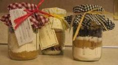 Are you looking for some inexpensive Christmas gift ideas? Here's a few fun ones!! 1. Put all the ingredients of a S'more in clear containers with a beautiful bow. Voila the perfect gift for a sweets lover. (I found this idea here. S'mores can be safely made in the microwave – 10 seconds and you'll have a succulent dessert! ) 2. Make a picture collage. My sisters and I made this collage for my dad on Father's Day and it proudly graces the hallway of my parents home. Each grandchild held a…