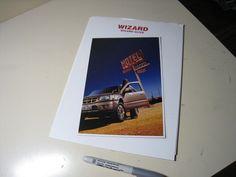 ISUZU WIZARD Japanese Brochure 2001/05 25/73 6VD1 4JX1