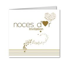 mariage and invitations on pinterest - Texte Invitation 50 Ans De Mariage Noces D Or