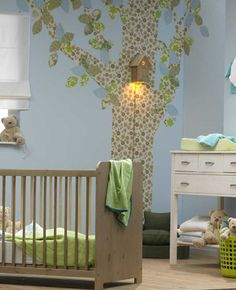 Lieblich Nursery With Natural Nursery Furniture.PNG