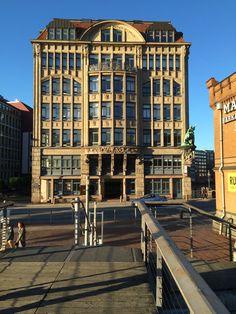 Hamburg - Haus der Seefahrt, Deichstraße/Hohe Brücke