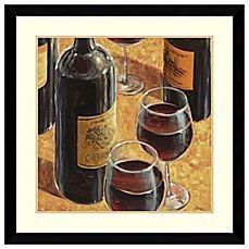 image of Karen Emery Wine Tasting I Framed Art Print