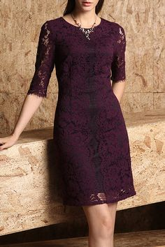 elegant sheath dress