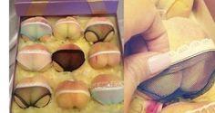 'sexy' peaches in bikini bottoms in China