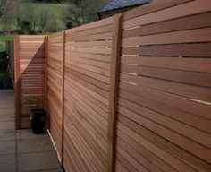 Red Cedar Wooden Fences : Best Wood For Outdoor Fences