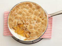 Shortcut Peach Pie Recipe : Food Network Kitchens : Food Network - FoodNetwork.com