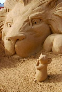 Cool Sand Sculpture by dona
