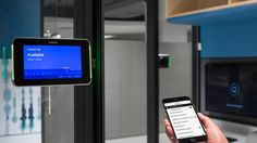 Steelcase Personal Assistant is a mobile app that works with our sensors to help users find the perfect space to work. Meeting Room Booking System, Innovative Research, Coffee Shop Design, Technology Tools, Workspace Design, Office Furniture, Mobile App, 3d Printing, Health Care