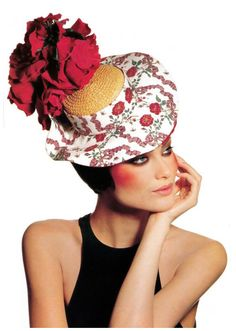 Shalom Harlow, 1995 Photographed by Irving Penn,