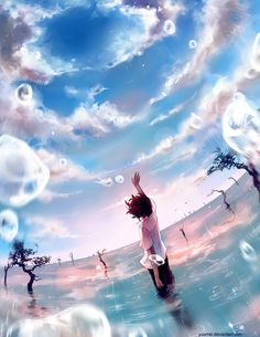 New Sky by Yuumei (via anipan.com)