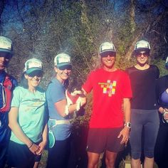 Those hats though! :-D  @Regrann from @jasonschlarb -  Hanging w/ the #durangorunningclub for a group run in our new @florahealthy hats. Durango is one cool place #Regrann