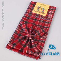 MacAlister Modern Tartan Mini Sash. Free worldwide shipping available.