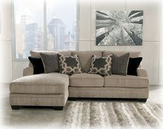 Katisha Chaise Sofa. I'm pretty sure this can be left or right side convertible chaise.