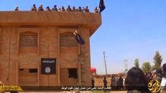 Welcome To Chitoo's Diary.: GRAPHIC PHOTOS: ISIS MILITANT THROWS MAN FROM A RO...