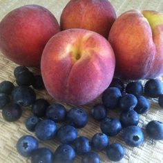 Peach-Blueberry Upside-Down Cake