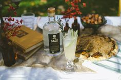 SAGE & Pear Winter Gimlet