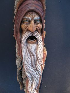 Suzy wood carving wood spirit 5
