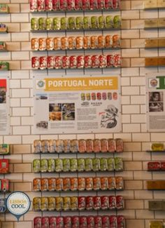 Loja das Conservas - Lisboa Portugal, Calendar, Cool Stuff, Holiday Decor, Home Decor, Top Restaurants, Lisbon, Preserve, Norte